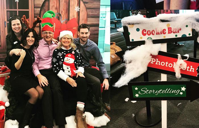 Santa Claus flight to the North Pole – December 6, 2017